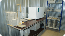 лаборатория проверки бетона